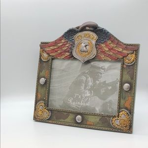US Army Red, White & Blue Winged Picture Frame